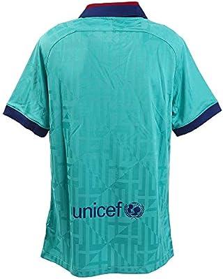 NIKE Barcelona Camiseta, Hombre, Azul (3ª Equipación), XL: Amazon ...