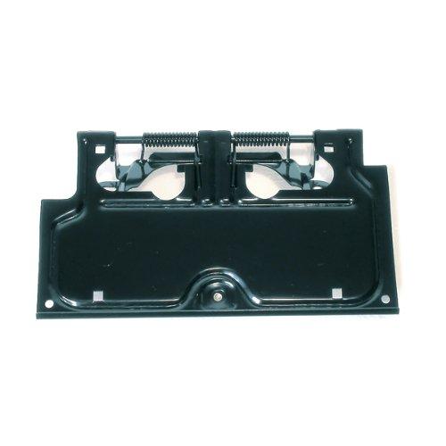 1 Black License Plate Holder (Fold Down License Plate Holder)