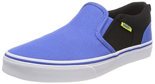 Vans Asher, Zapatillas Unisex Niños Azul (2-tone)
