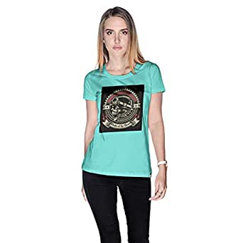 Creo Pirates Of The Desert Bikers T-Shirt For Women - L, Green