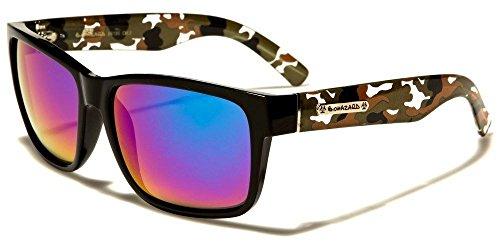 Brown Camo Arms Biohazard Camouflage Arms Vintage Men'S Designer - Italian Independent Sunglasses