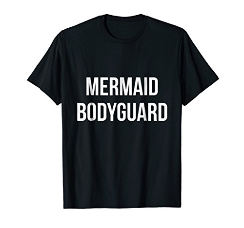 Mermaid Bodyguard Halloween costume for dad daughter ()