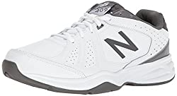 New Balance Men's Mx409v3 Casual Comfort Training Shoe, Whitegrey, 12 D Us
