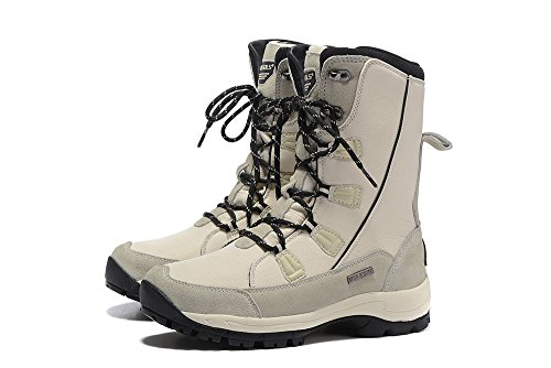 Speedeve Outdoor Lining Ski Winter Hiking Boots Shoes Fur Snow Boot Sports Skid Women Warm Climbing White Anti Waterproof qfSwE