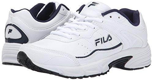 Navy Memory White Pour Course De Fila Pied Chaussure Metallic Silver Sportland Homme fwp1BqWz