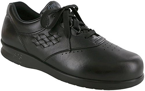 SAS Freetime Women US 10 Black Nursing & Medical Shoe by SAS