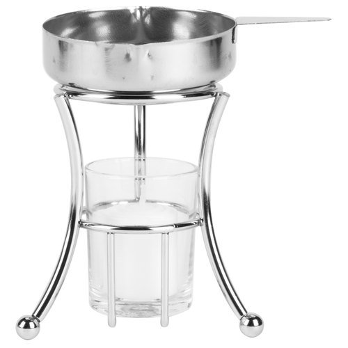 Royal Industries Complete Butter Warmer, Stainless Steel