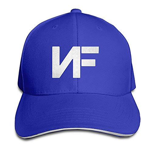 (Unisex NF Adjustable Stylish Sandwich Dad Golf Hat Hip Hop Baseball Cap RoyalBlue)