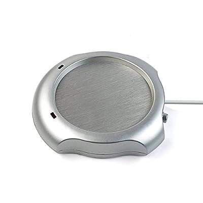 Cyber Cart Office & Home Use Mug Warmer Desktop Heated Coffee & Tea USB HUB & Warmer