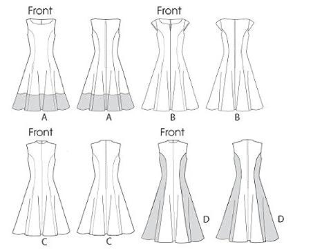 Amazon.com: McCall Pattern Company M6741B50 Misses\'/Women\'s Petite ...