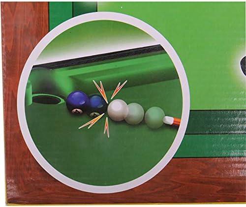 Juego de mesa de billar Anrux para billar, mesa de billar, juego ...