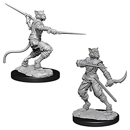 WizKids Dungeon & Dragons Nolzur's Marvelous Miniatures - Male Tabaxi