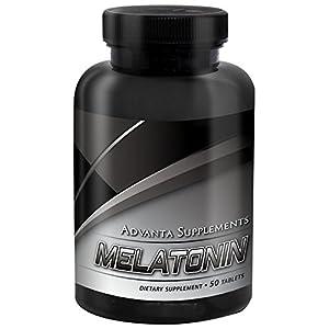 Melatonin All Natural Sleep Aid To Help Fall Asleep