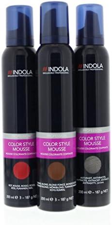 Espuma de color de Indola Color Style Mousse Middle Brown 200 ...