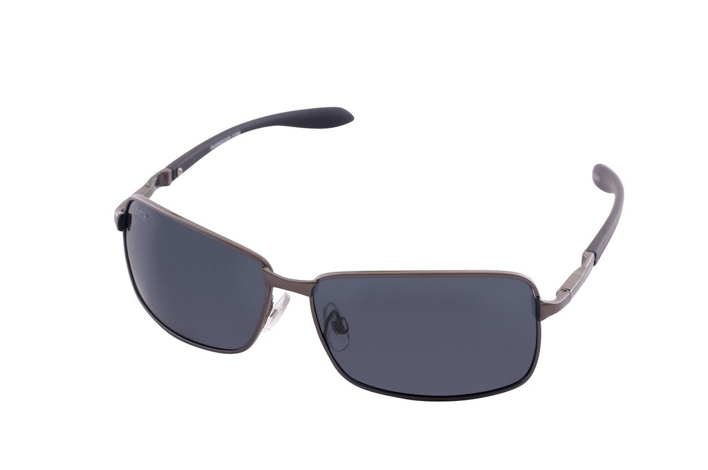 ce174f6cb065f Galleon - 1604 Pugs Polarized 100% UV Sunglasses With Flexible  Polycarbonate Temples (Iron And Black Frame