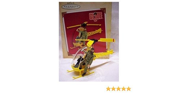 Hallmark Keepsake Ornament GI Joe 2004 Helicopter with Man Brand New in Box
