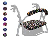 Crutcheze Butterfly Rollator Walker Seat and Backrest Covers - Unique...