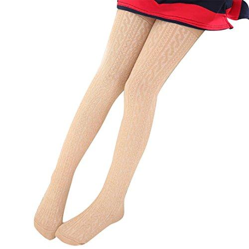 Elevin(TM)Baby Kids Cute Warm Cotton Tights Socks Hosiery Legging Pantyhose (XS, Khaki) (Halloween Hedgehog Cupcakes)