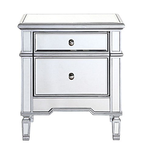 Elegant Lighting Chamberlan Mirrored Cabinet from Elegant Lighting