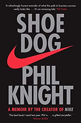 Shoe Dog- Inspirational book for entrepreneurs