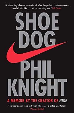 Shoe Dog- Inspirational book for entrepreneurs