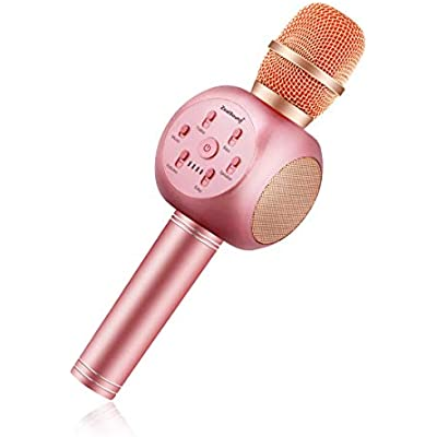 karaoke-microphone-portable-wireless
