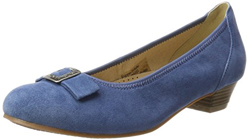 Conti Blau by 3004550 Jeans Hirschkogel Pumps Damen Andrea 1AZYOdqw1