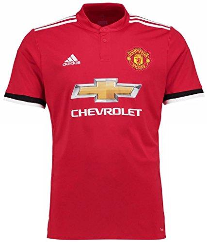 スピーカー熱心な図adidas(アディダス) マンチェスター?ユナイテッドFC ホームユニフォーム 2017/18 Manchester United FC Home Shirt 2017/18 [並行輸入品]