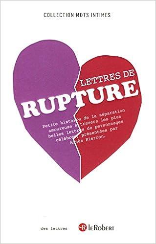 Lire Lettres de rupture epub, pdf
