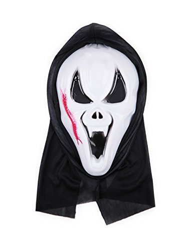 Century Star Creepy Scary Ugly Halloween Costume Party Funny Head Mask Centipede One Size (Adult African King Costume)