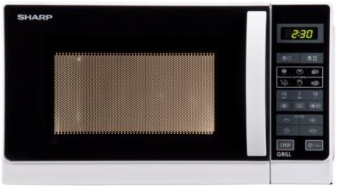 Sharp - r642ww - Micro-ondes + gril 20l 800w blanc