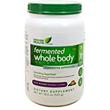 Genuine Health Fermented Whole Body Nutrition, Acai Mango Flavor, 18.5 oz (...