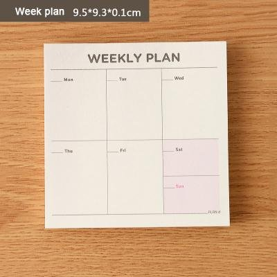 Amazon.com : Trytee Daily Planner Cute Kawaii Weekly Monthly ...