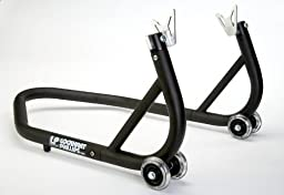 LP USA 3 Piece Black Steel Swingarm Race Stand \