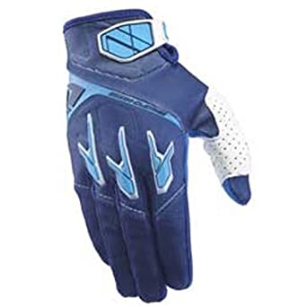 0a346ed1e27e3f One Industries Atom Glove - Navy/Cyan: Amazon.ca: Clothing & Accessories