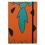 The Flintstones Official The Flintstone's Fred Design A5 Notebook Journal - Lined,Orange