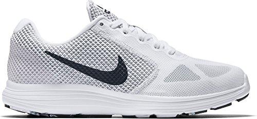 Nike Wmns Revolution 3, Scarpe da Corsa Donna bianco-nero