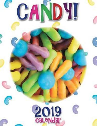 Candy! 2019 Calendar by Sea Wall