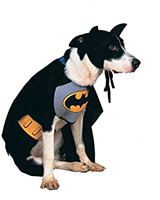 Rubies Costume DC Heroes and Villains Collection Pet Costume - Classic Batman