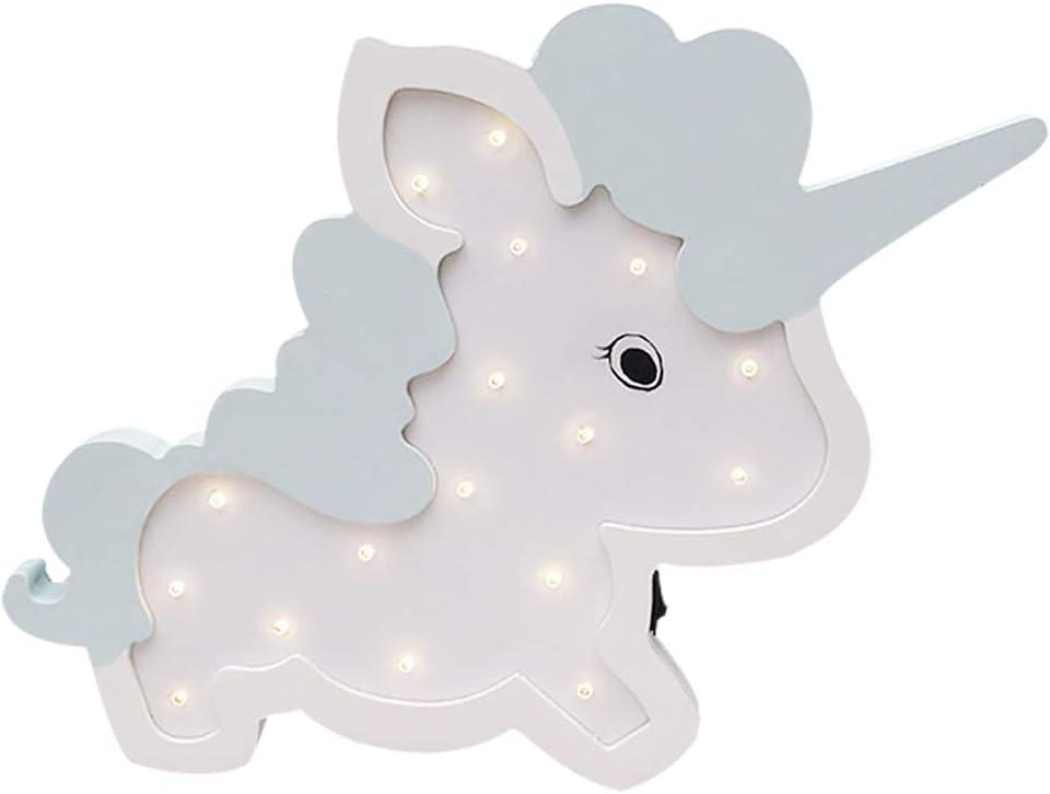 Kailya En forma de animal Carpa de madera Decoraci/ón Luz LED Luz de noche Funciona con pilas L/ámparas de mesa para ni/ños Ni/ños Ni/ñas Dormitorio Corredor Boda de Navidad