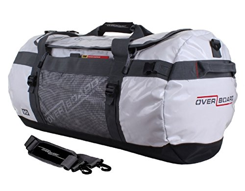 OverBoard Adventure Duffel Bag, White, 90-Liter by Overboard