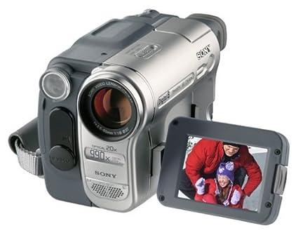 Sony Digital8 Camcorder DCR-TRV460 Sony Handycam Digital8 Player Hi8  Camcorder (Renewed)