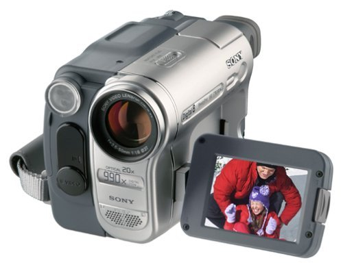 Sony Digital8 Camcorder DCR-TRV460 Sony Handycam Digital8 Player Hi8 Camcorder (Certified Refurbished)
