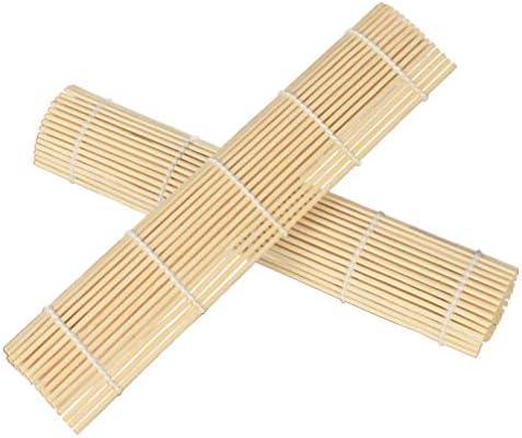 YARNOW Bamboe Sushi Rolmat Sushi Rollende Paddle Pad Spreader Sushi Maken Tool