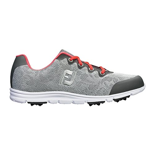 FootJoy Women's Enjoy Golf Shoes Grey Mist Size 7.5 M US