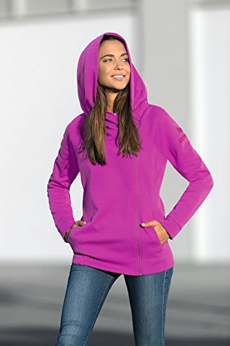 Donna purple Cappuccio Fuchsia Erima Con In Potion Hooded Felpa Jacket Giacca Sweat Essential wqPzZ