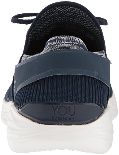 Bleu Bleu Blanc Femme Marine You Skechers Enfiler Spirit Baskets Cn1XSqw