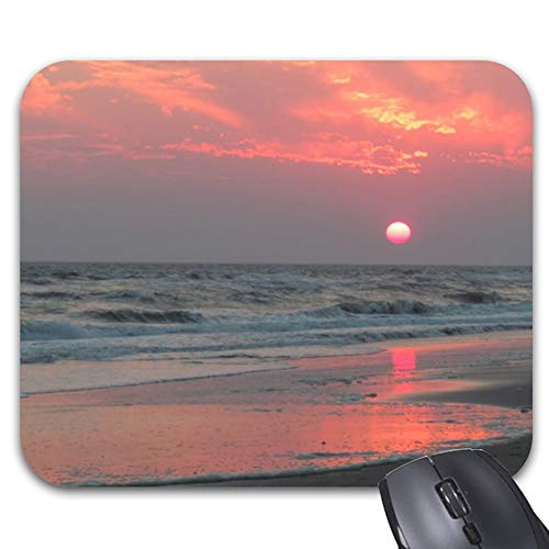 One Perfect Sunset - Oak Island, Nc Mouse Pad Trendy, used for sale  Delivered anywhere in Canada