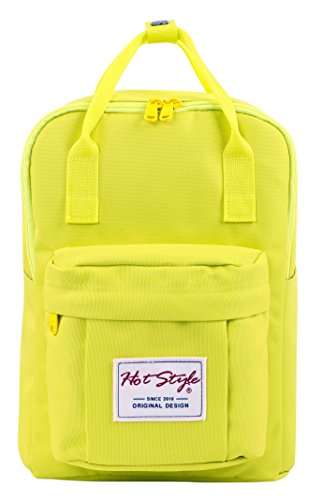 HotStyle Cute Mini Backpack Diaper Bag Small Travel Handbag - GreenYellow by hotstyle