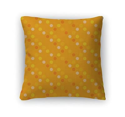 Gear New Zippered Pattern with Polka Dots Square Pillow